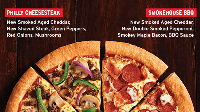 Pizza Hut Canada Introduces New Smokehouse BBQ And Philly Cheesesteak Pizzas