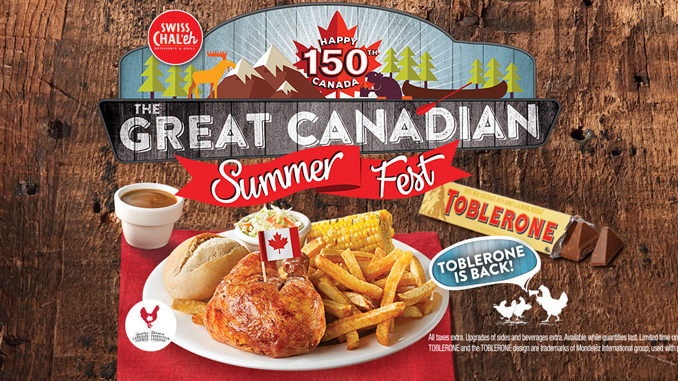 Swiss Chalet Launches The Great Canadian Summer Fest Promotion