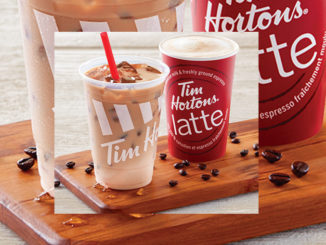 Tim Hortons Introduces New Iced Latte