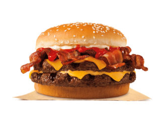 Burger King Canada Adds Bacon King Sandwich