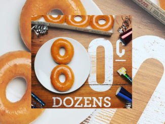 Buy Any Dozen Get A Dozen Original Glazed For 80-Cents At Krispy Kreme Canada On July 14, 2017