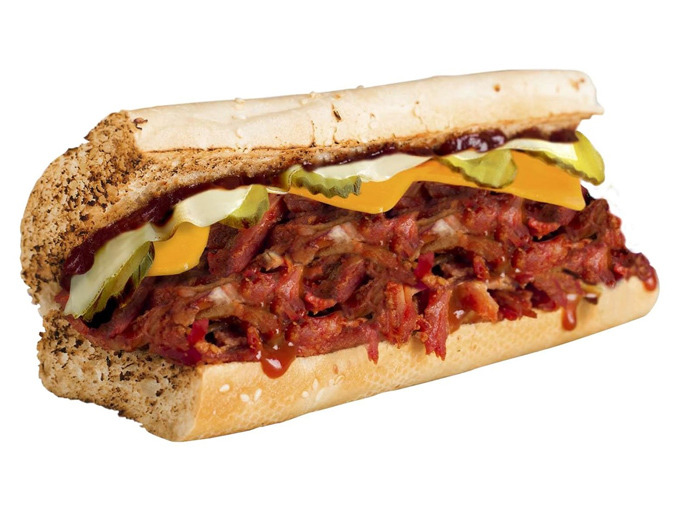 Buy One, Get One Free Pulled Pork Sandwich At Quiznos Canada On August 1, 2107