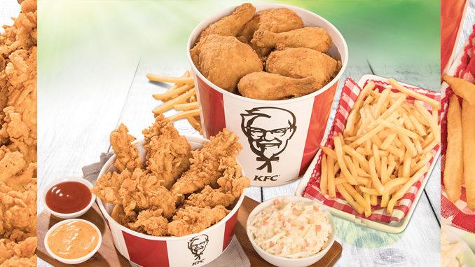 KFC Canada Serves Up New $30 Summer Double Bucket - Canadify