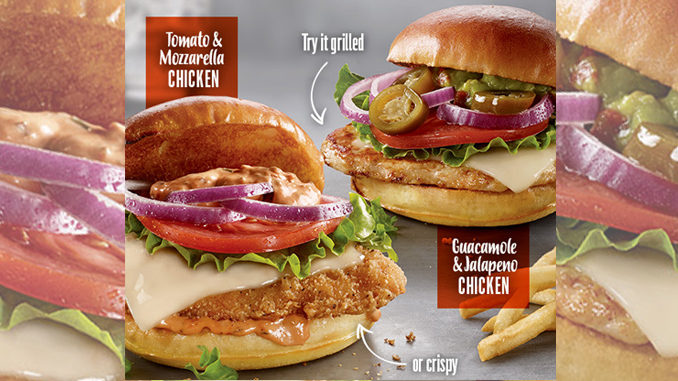 Mcdonald s canada introduces new seriously chicken for Calories in a mcdonald s fish sandwich