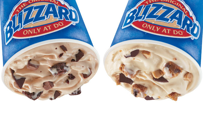 Dairy Queen Canada Adds New Frosted Fudge Brownie & Salted Caramel Blondie Blizzard Treats