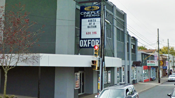 Halifax's Iconic Oxford Theatre Closing Its Doors On September 13, 2017