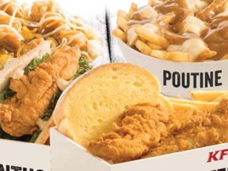 KFC Canada Adds New $5 Fill Ups Options