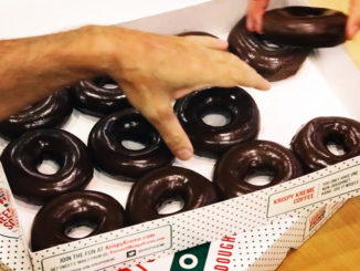 Krispy Kreme Canada Unveils Chocolate Glazed Doughnuts To Coincide With Solar Eclipse