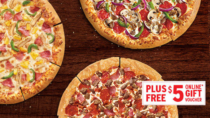 Pizza Hut Canada Brings Back $5 $5 $5 Deal Through October 16, 2017