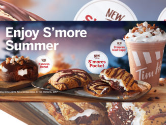 Tim Hortons Unveils New S'mores Donut, S'mores Pocket, And S'mores Iced Capp