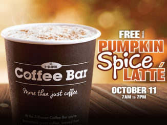 Free Pumpkin Spice Latte At 7-Eleven Canada On October 11, 2017