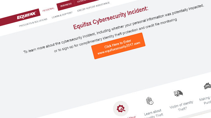 Personal Data Of 100,000 Canadians May Have Been Exposed In Equifax Hack
