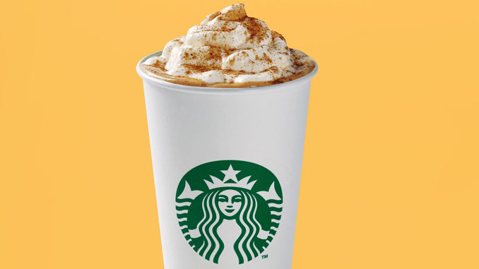 Pumpkin Spice Lattes Are Back At Starbucks Canada For 2017