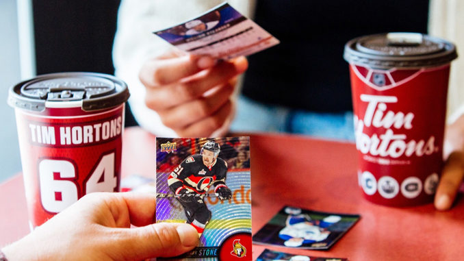 Tim Hortons Launches 2017-18 Collector's Series NHL Trading Cards