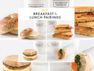 Second Cup Offers New Breakfast And Lunch Pairings Menu
