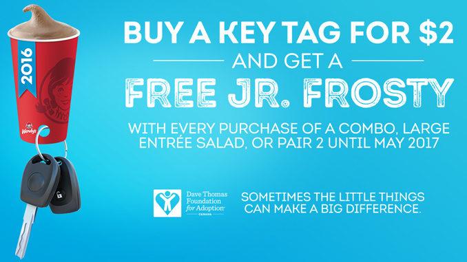 Wendy's] $2 Frosty Key Tags - enjoy