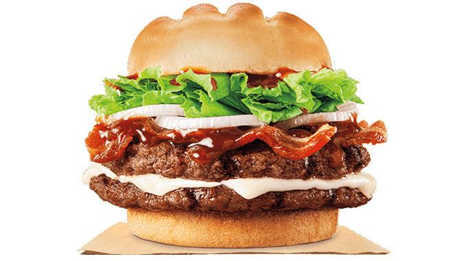 Burger King Canada Grills Up New HP Hearty Mozzarella Bacon Cheeseburger