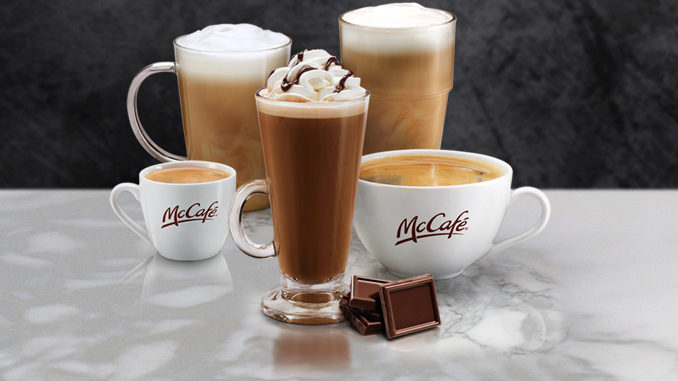 Get Any Small Specialty Coffee For $1.00 At McDonald's Canada Through February 5, 2017