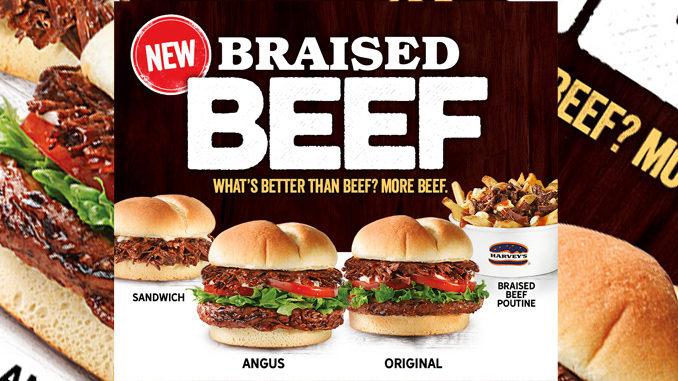 Harvey's Serves Up New Braised Beef