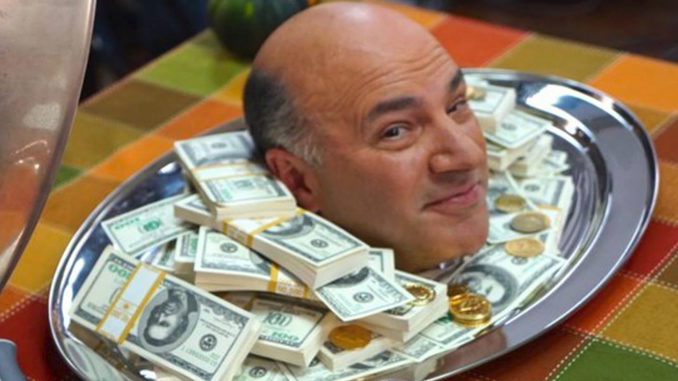 Kevin O'Leary Says He Doesn't Have A Money Problem, But He Does
