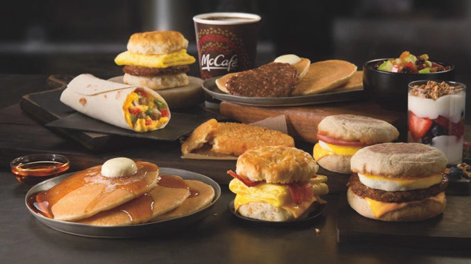McDonald's Canada Testing All-Day Breakfast At Select Locations