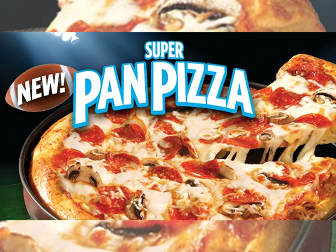 pizza pizza offers new super pan pizza just in time for super bowl sunday canadify. Black Bedroom Furniture Sets. Home Design Ideas