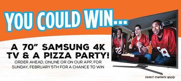 Pizza Pizza TV and Pizza Party Contest