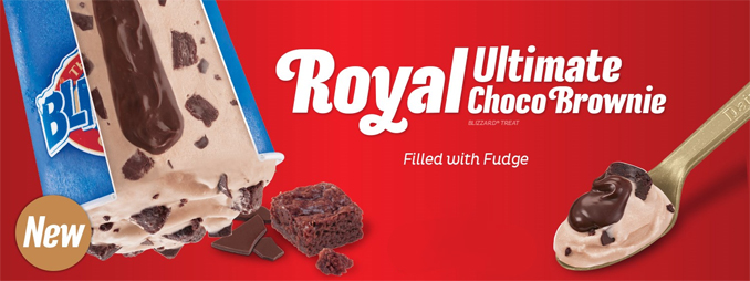 Ultimate Royal Chocolate Brownie Blizzard Dairy Queen