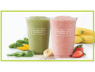 Second Cup Serves Up All New Smoothies