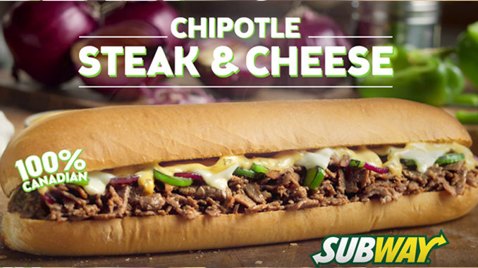 Subway Canada Serves Up Chipotle Steak And Cheese