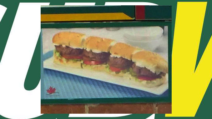 Subway Canada Testing New Canadian Beef Sliders Sub