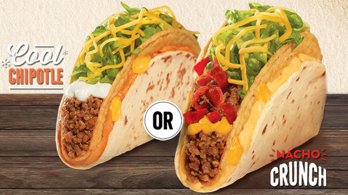 Taco Bell Canada Debuts New Double Layer Tacos
