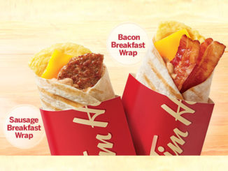Tim Hortons Offers $2.99 Grilled Breakfast Wrap And Coffee Deal