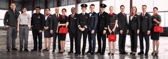 Air Canada Uniforms 2017