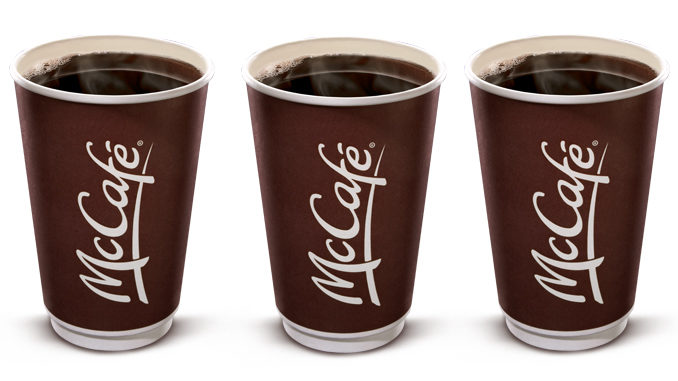 Free Coffee At McDonald's Canada From February 27 Through March 5, 2017