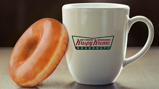Get A Free Doughnut At Krispy Kreme Canada With Any Size Coffee Purchase Through February 28, 2017