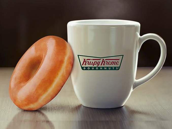 get a free doughnut at krispy kreme canada with any size. Black Bedroom Furniture Sets. Home Design Ideas