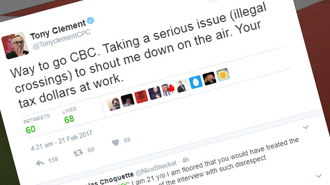 Listen As A Frustrated Tony Clement Hangs Up On CBC Radio Interviewer During Exchange Over Asylum Seekers