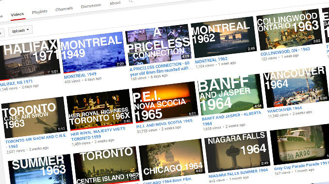 Long-Lost 8-mm Films Depict Canadian Cities In The '40s, '50s, '60, '70s