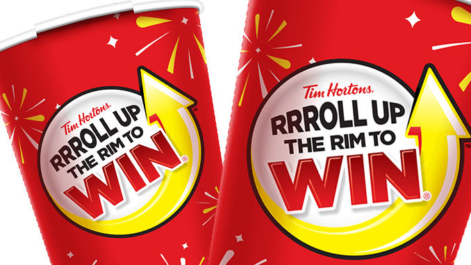 Hortons roll up the rim