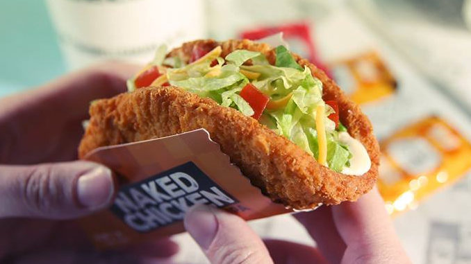 Taco Bell Canada Introduces The Naked Chicken Chalupa