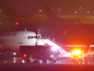 This Air Canada Plane From Halifax Slid Off The Runway In Toronto