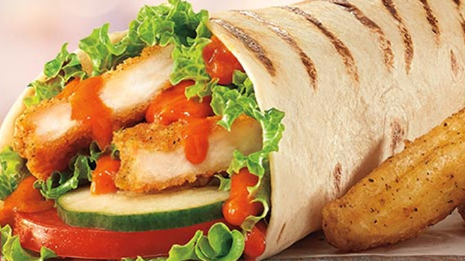Tim Hortons Introduces New Buffalo Chicken Wrap