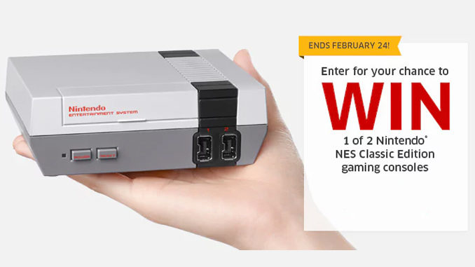 Win A Nintendo NES Classic Edition Gaming Console From The Source Canada