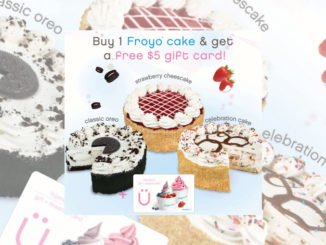 Buy Any Frozen Yogurt Cake At Yogen Fruz And Get A Free $5 Gift Card