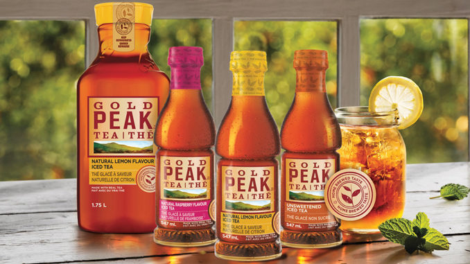 Coca-Cola Brings Gold Peak Tea To Canada In National Launch