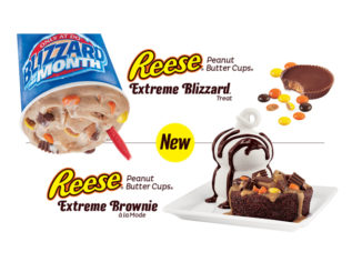 Dairy Queen Canada Offers New Reese Extreme Blizzard, Reese Extreme Brownie