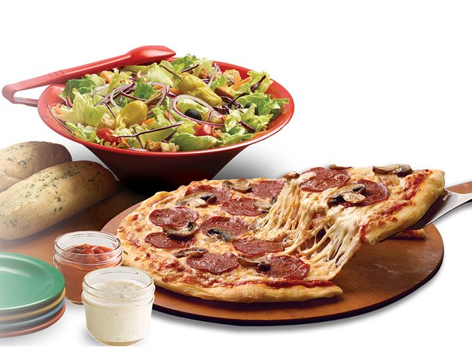 At your neighborhood pizza joint we serve great food with ice cold specialty drinks and a side of good laughs. So whether you're bringing the whole family for dinner, your co-workers for a business lunch or looking for second date insurance (wink, wink), we'll treat every meal like it's a big deal.