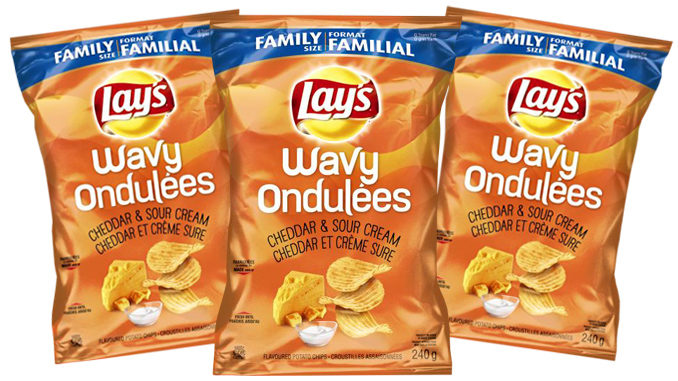 Lay's Canada Launches New Wavy Lay's Cheddar & Sour Cream Potato Chips