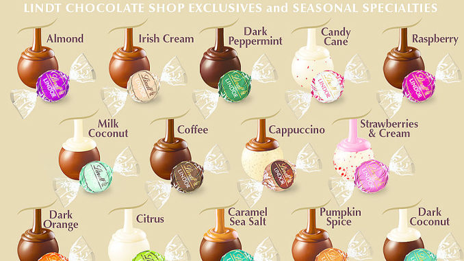 Lindt Canada Offers 100 Lindor Truffles For 35 Or 150 49 99